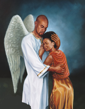 He Comforted Me