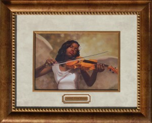 Melody From Heaven Framed Print